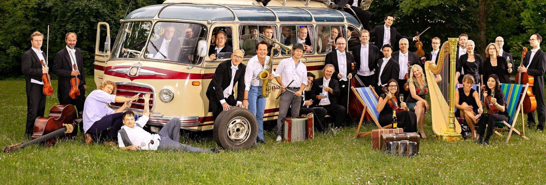 Quadro Nuevo & <br>Münchner Rundfunkorchester